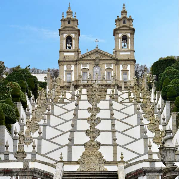 The Bom Jesus do Monte  Braga