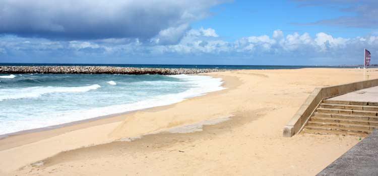 Espinho beach porto