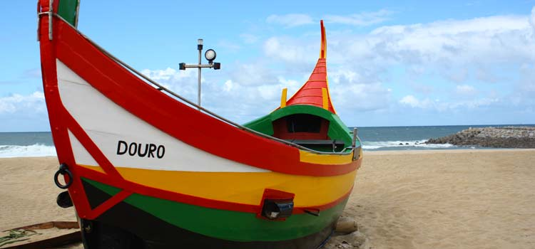 Espinho fishing boats