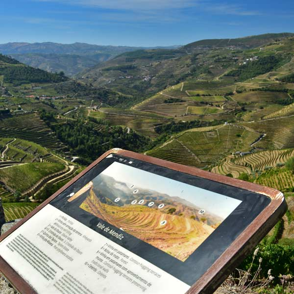 The Vale de Mendiz viewpoint