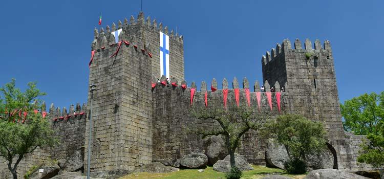 Il castello di Guimarães